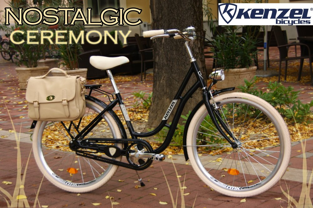 Kenzel Nostalgic Ceremony fekete
