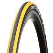 Külső gumi Bontrager R2 700x23c sárga/fekete